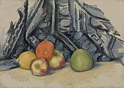 Paul Cézanne - Apples and Cloth (Pommes et tapis) - BF152 - Barnes Foundation.jpg
