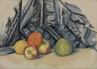 Apples and Cloth (Pommes et tapis)