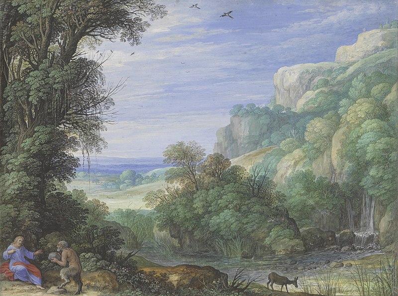 File:Paulus Bril - De verzoeking van Christus in de woestijn - 0050 - Rijksmuseum Twenthe.jpg
