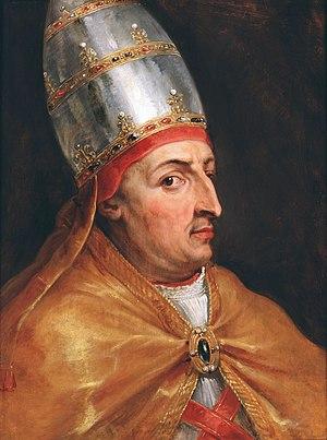 Pope Nicholas V - Image: Paus Nicolaas V door Peter Paul Rubens