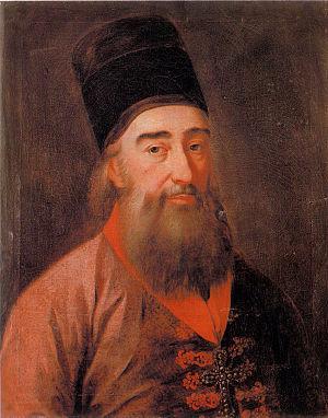 Pavle Nenadović - Oil painting by Teodor Kračun.