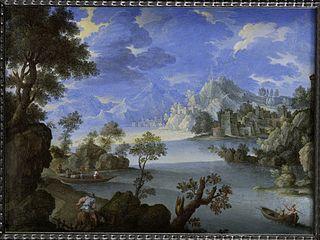 Paysage au bord du lac