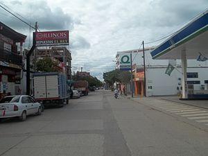 Orán, Salta - Image: Pellegrini Street view to the North in San Ramón de la Nueva Orán