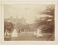 People in gardens of unidentified house (4052079029).jpg