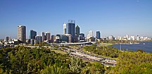 Western Australia-Demographics-Perth Skyline from Kings Park