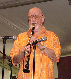 Pete Fountain - Pete Fountain at the New Orleans Jazz & Heritage Festival, 2006