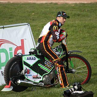 Peter Ljung (speedway rider) Swedish motorcycle speedway rider (born 1982)
