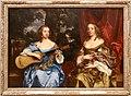 Peter lely, due donne della famiglia lake, 1660 ca. 01.jpg