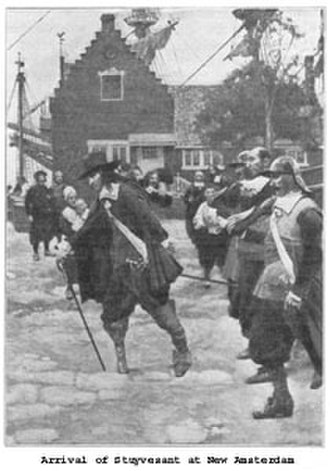 Peter Stuyvesant - Stuyvesant's arrival in New Amsterdam