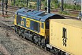 Peterborough - GBRf 66712 Rotherham containers.JPG