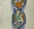 Peterborough Psalter harp page 154.png