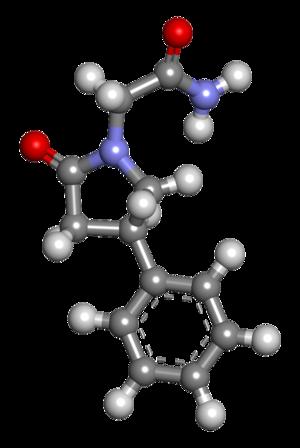Phenylpiracetam - Image: Phenylpiracetam