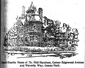 Inman Park - Phil Haralson home, 1896