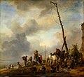 Philips Wouwerman - Vissers op een strand - Gal.-Nr. 1434 - Staatliche Kunstsammlungen Dresden.jpg