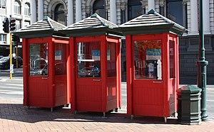 Phone booths, Dunedin