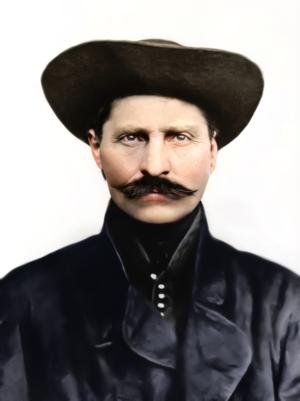 Sándor Rózsa - Image: Photo Portrait Hungary Rózsa Sándor (colored)