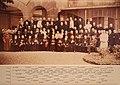 Photographie réalisée à l'Occasion du Centenaire de l'Œuvre d'Orient en 1956. On reconnait parmi les personnalités le Cardinal Roncalli, future Pape Jean XXIII, en sa qualité de Patriarche de Venise.jpg