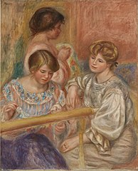 Embroiderers (Les Brodeuses)