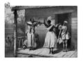 Pierre Jacques Benoit.- La leçon de danse au violon Surinam, 1839.png