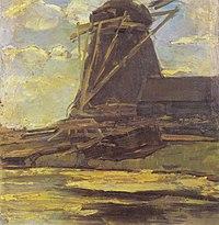 Piet Mondriaan - Oostzijdse mill with cropped wings - A415 - Piet Mondrian, catalogue raisonné.jpg