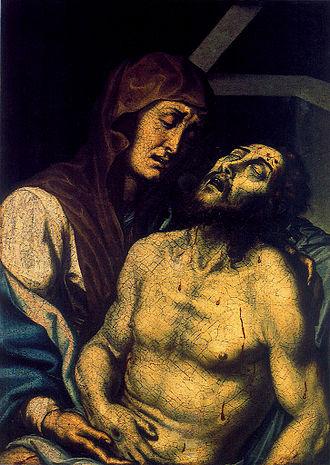 Pietrafesa (painter) - Pietà, 1608, St. Francis Churh, Potenza