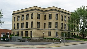 Pike County Courthouse in Petersburg from east.jpg