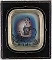Pikeportrett - daguerreotypi - ca. 1850 - Oslo Museum - OB.F16023e.jpg