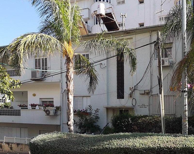 הבית ברחוב קרן קיימת 3 בראשון לציון