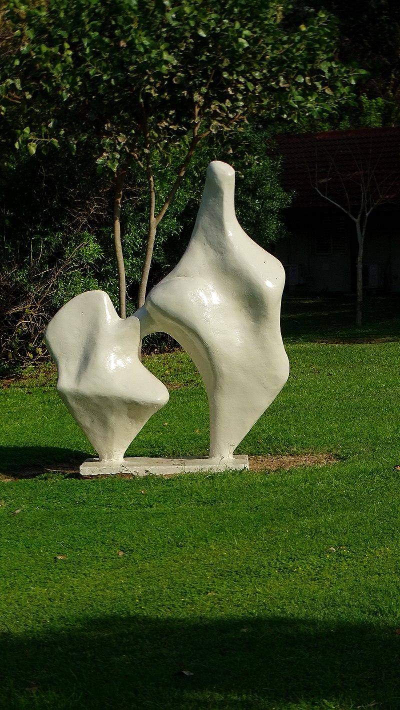 פסל חוצות בקיבוץ שדות ים
