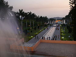Pinjore Gardens located in Haryana; The state is one of the wealthiest in the country mostly due to over half districts being in the National Capital Region