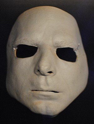 "Pink Floyd: Their Mortal Remains - Mask cast from Richard Wright's face and worn by a member of the ""surrogate band"" during 'In the Flesh?', the opening number of The Wall concerts, in order to fool audiences into thinking they were Wright."
