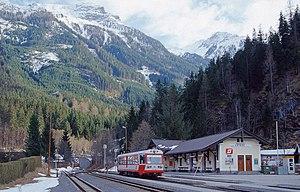 Pinzgauer Lokalbahn - Railcar in Krimml