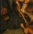 Pisanello, visione di sant'eustachio, 1438-42 ca. 05 cani molossi.jpg