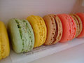 Pistachio, lemon, rose, caramel and other macarons.jpg