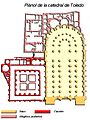 Plànol catedral de Toledo.jpg