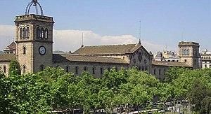 University of Barcelona - Historic building of the University of Barcelona