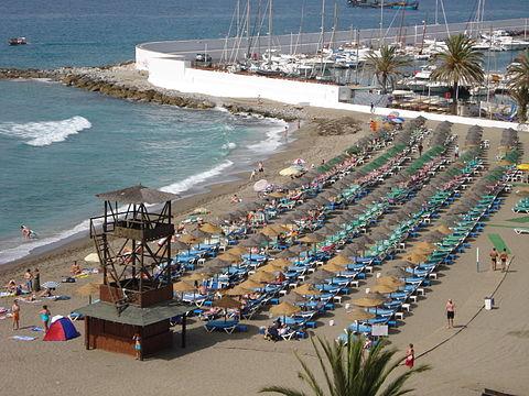 Beaches around Marbella
