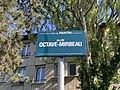 Plaque Allée Octave Mirabeau - Pantin (FR93) - 2021-04-27 - 2.jpg