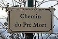 Plaque chemin Pré Mort St Cyr Menthon 2.jpg
