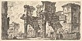Plate 1- Part of the Forum of Nerva (Parte del Foro di Nerva) MET DP827927.jpg