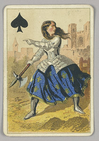 420px-Playing_Card,_Queen_of_Spades,_late_19th_century_(CH_18405331).jpg (420×600)