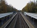 Plumstead station high westbound.JPG