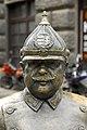 Pocakos rendőr statue, Budapest, Hungary (2011) 02.jpg