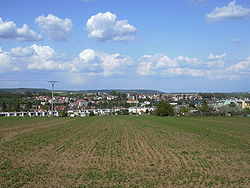 Skyline of Drnovice