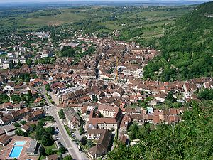 Jura (department) - Image: Poligny Jura France