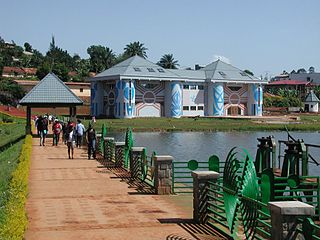 Dschang Place in West, Cameroon