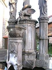 fontaine-calvaire de Ponteix