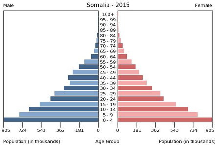 Population per age group Population pyramid of Somalia 2015.png