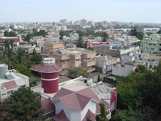 Porbandar - Porbandar skyline