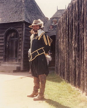 Port-Royal National Historic Site - Typical 17th century uniform at Port-Royal